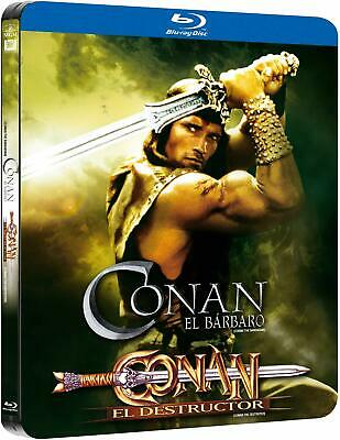 Conan The Barbarian / The Destroyer Limited Edition Steelbook Import Region Free
