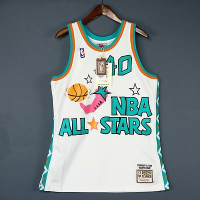 483d2be3e 100% Authentic Shawn Kemp Mitchell Ness 1996 NBA All Star Jersey Size 44 L  Large