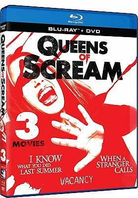 Queens of Scream: Triple Feature (Blu-ray + DVD, 2019) BRAND NEW!