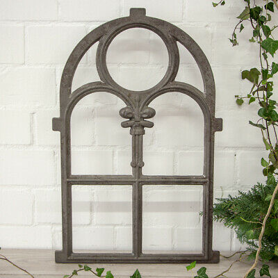 Iron Window, Stained-Glass Windows round Arch, Cast in Top Quality