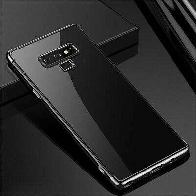 Luxury Shockproof Plating Bumper TPU Case Cover For Samsung Galaxy S10 S9 S8Plus