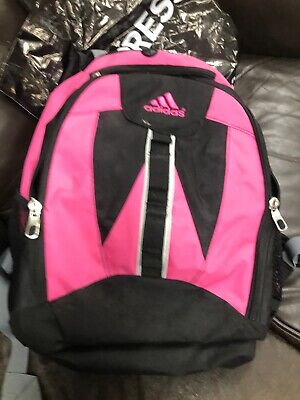 8e5036cbe3dd Adidas Backpack Pink   Black with Load Spring Adjustable Straps 90288 very  Cool