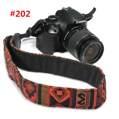 SLR DSLR Camera Neck Shoulder Strap Belts for Canon Nikon Sony Panasonic Kit