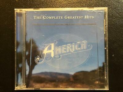 The Complete Greatest Hits by America (CD, Aug-2001, Rhino) Like New