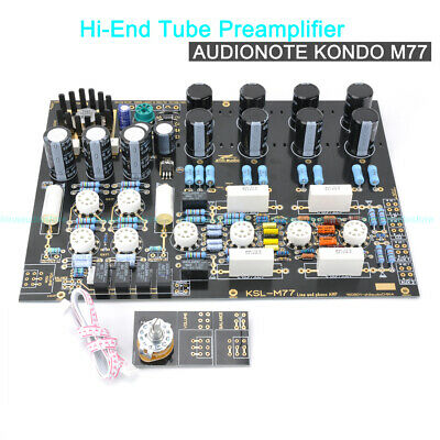 HIEND M77 TUBE Preamplifier Phono Turntable Stage Preamp DIY