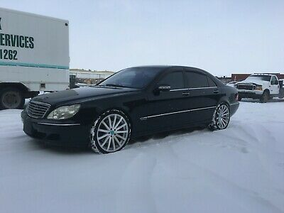 2003 Mercedes-Benz S-Class S600 2003 Mercedes Benz S600 - 39,000 MILES, Twin Turbo V12, Lowered, 2 sets of rims