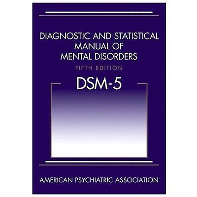 Diagnostic and Statistical Manual of Mental Disorders DSM-5 by Hardcover