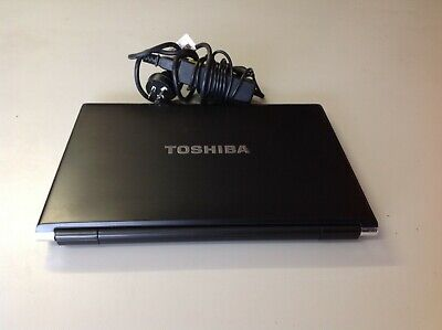 "Toshiba Portege R930 Laptop 13.3"" i5 3rd 4GBRAM 640GB HDD Win10 +charger"
