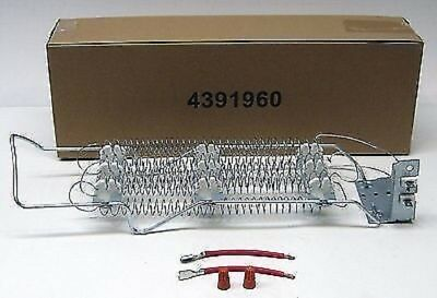 Dryer Heating Element w/ Wire Kit 5200 Watts 240V Whirlpool Kenmore Part 4391960