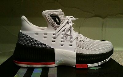 New Adidas Men s D Lillard 3 Basketball Sneakers Shoes Size 7 Bb8268 3c3289846