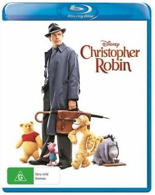 Christopher Robin (Blu-ray, 2018)BRAND NEW & SEALED