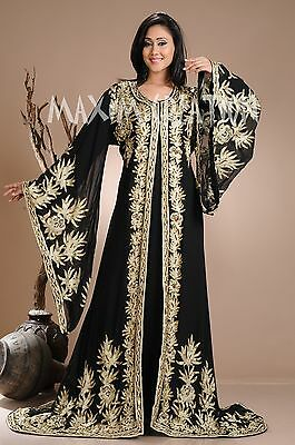 Traditional Kurdish Dress Arab Princess Wedding Gown Iranian Khaleeji Thobe 3941