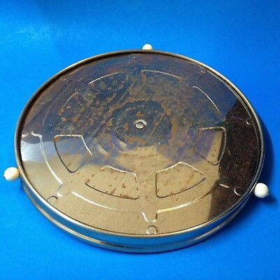 50s Vintage Working Tin Plate Lazy-Susan - 29cm - Restoration Project - Read On.