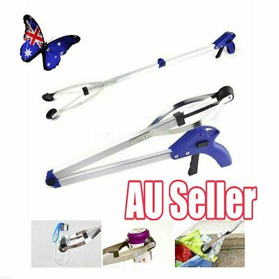 Handy Claw Reacher Grabber Extension Trash Gripper Long Reach Arm Pick Up Tool V