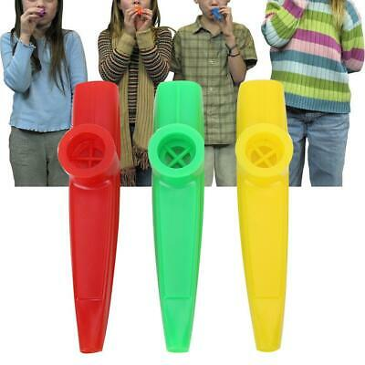 Quality Plastic Kazoo Harmonica Mouth Flute Musical Instrument Toy Gift for Kids