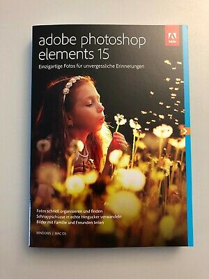 Adobe Photoshop Elements 15 | Vollversion | Deutsch | Original | Esd Download