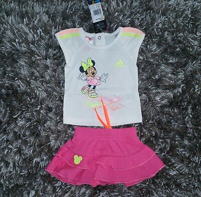 popular stores lowest discount sale usa online ADIDAS DISNEY MINNIE Mouse Mädchen Sommer-Set Gr.62 2tlg. -T ...
