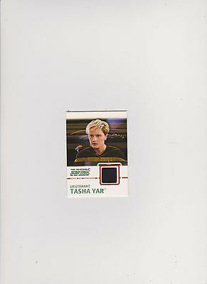 Star Trek Tng Quotable  Costume Card C8 Black Tasha Yar