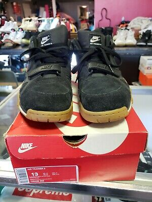 079dc778c5f9 Nike Air Trainer 3 Iii Used Size 13 Black White Light Brown Gum 705426 002