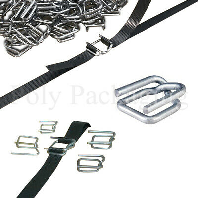 Pallet Strapping METAL BUCKLES for 12mm Straps Binding Sealing Packing ANY QTY