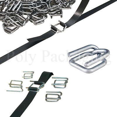 Pallet Strapping Metal Buckles Various Quantities