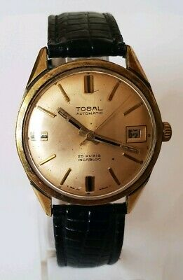 Tosal Mens' 25 Jewels '50 years Old' Automatic Watch - Swiss Made