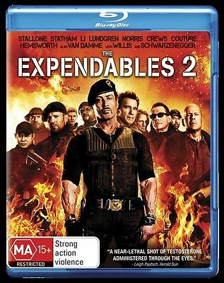 The Expendables 2 (Blu-ray, 2012)BRAND NEW & SEALED