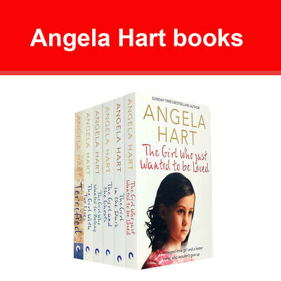 Angela Hart collection 1-6 books set Series pack Terrified, Girl in the Dark NEW