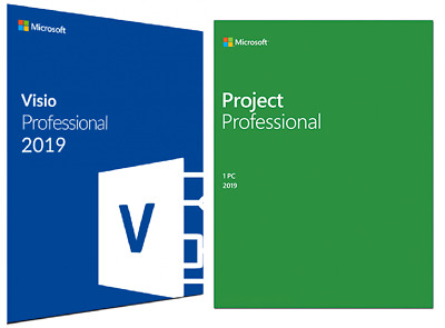 Microsoft Office Visio & Project 2019 Professional - Fatturabile