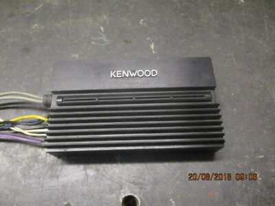 Rare Vintage Kenwood Kac-520 2 Channel Hide Away Amplifier Perfect Working Order