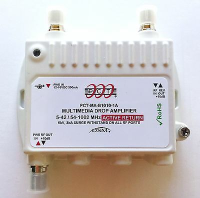 1 Port RF Amplifier Active Return CATV Amp PCT MA B1010 1A