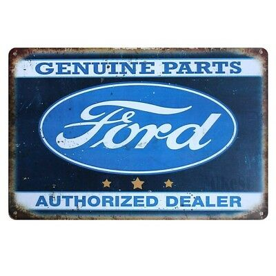 FORD Vintage Rustic Retro Tin Metal Sign Man Cave, Shed & Bar-Home