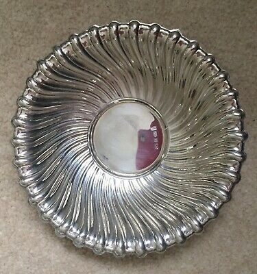 Sterling Silver Victorian Style Pin Dish