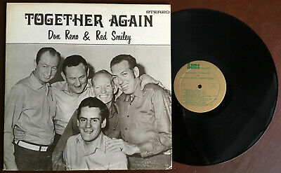 Don Reno & Red Smiley - Together Again ROME LP Rare Ohio bluegrass VG+
