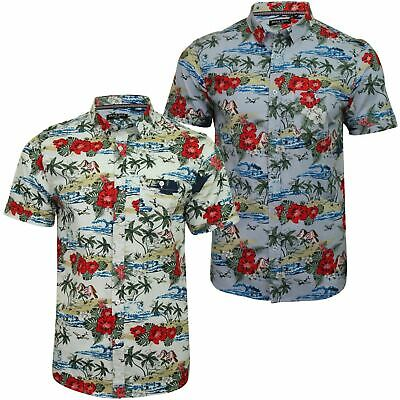Brave Soul Men's 'Climate' Hawaiian Shirt