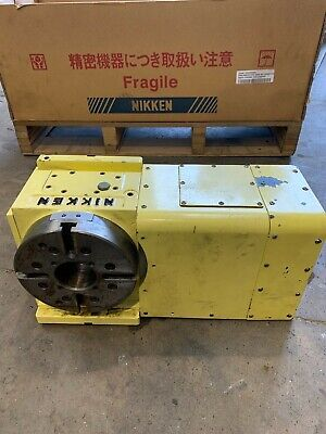 NIKKEN 4th AXIS With CONTROL BOX / COMES IN ORIGINAL BOXES WITH LEADS! TESTED!