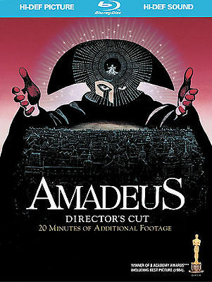 Amadeus (Blu-ray Disc, 2009, 2-Disc Set, with Bonus CD)  Digibook OOP