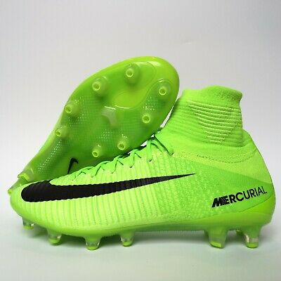 adc821915ed8 NIKE MERCURIAL SUPERFLY V AG-Pro Soccer Cleats Electric Green SZ ...