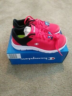 102747a56abe2 CHAMPION GUSTO XT II RUNNING TRAINING SHOES RED Black Mens NEW Size ...