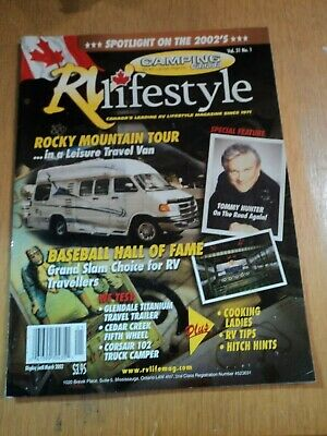 RV lifestyle 2002, canadian magazin, 78 pages , in nearly new condition, camping