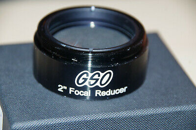 """Brand New in Box GSO 2"""" 0.5 Focal Reducer for Telescope"""