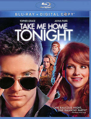 Take Me Home Tonight (Blu-ray, 2011) NEW! Anna Faris - Digital may be expired