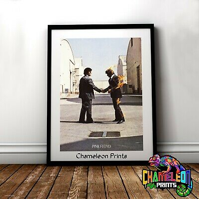 Pink Floyd Wish You Were Here Poster A3 A4