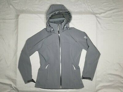 d8ff3b916f SALOMON WOMEN SKI Jacket Size Small Soft Shell Clima Pro Acti Therm ...