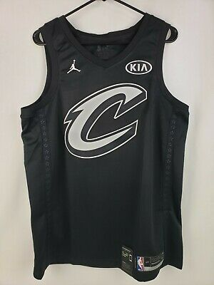 178b80f0754 Nike Lebron James 2018 Allstar Swingman Jersey Mens Black Size L 928873 010