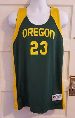 promo code 89f06 6275a MENS S OR L nike oregon ducks basketball #23 sewn authentic ...
