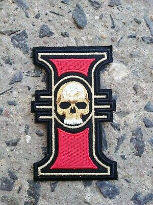 Warhammer Inquisition Insignia 40K Iron On Patch Embroidered Logo 9cm x 5cm
