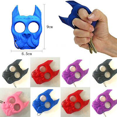 Key Chain Plastic Dog-Self-Defense Tools Portable Key Chain Outdoor Travel Gifts