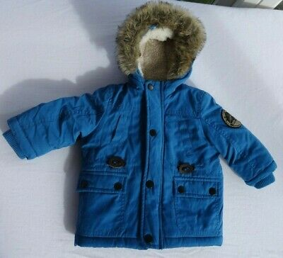 Baby Boy  3-6 Months Mothercare Hooded Jacket