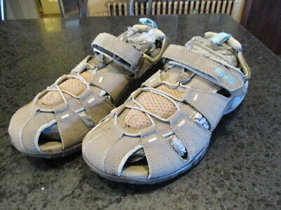 83701ffff9b TEVA 4173 Dozer III Mermaid  75 shoc pad velcro sport Sandals shoes womens  9 40